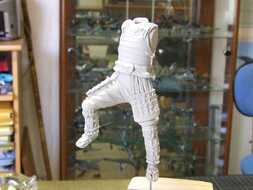 samourai Ashigaru commander 1600 Samourai-001