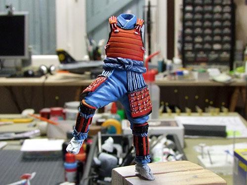 samourai Ashigaru commander 1600 Samourai-033