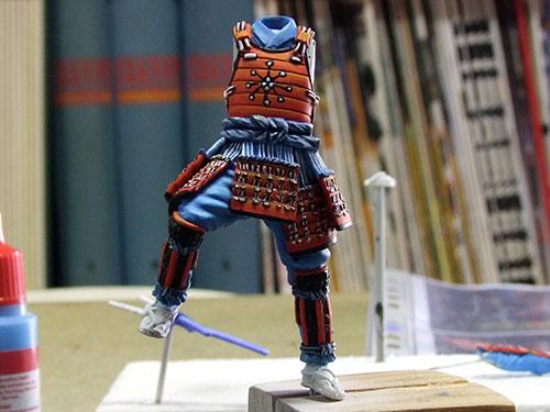 samourai Ashigaru commander 1600 Samourai-038