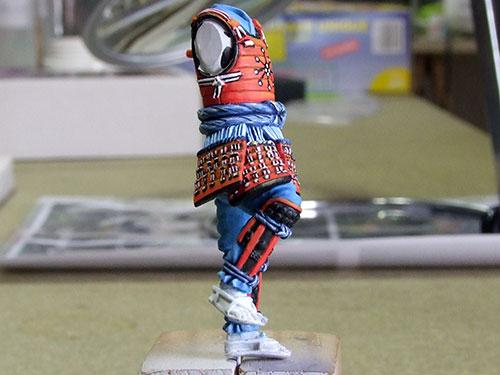 samourai Ashigaru commander 1600 Samourai-043