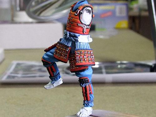 samourai Ashigaru commander 1600 Samourai-044