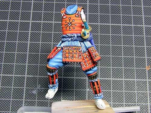 samourai Ashigaru commander 1600 Samourai-046