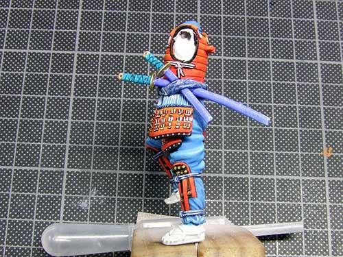 samourai Ashigaru commander 1600 Samourai-047