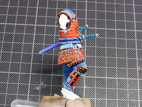 samourai Ashigaru commander 1600 Samourai-049