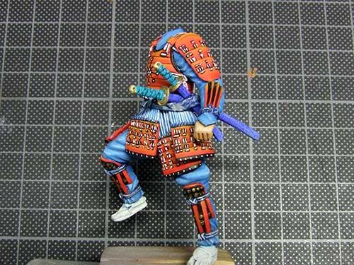 samourai Ashigaru commander 1600 Samourai-050