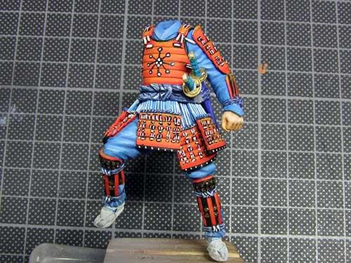 samourai Ashigaru commander 1600 Samourai-051