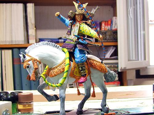 samouraï partie II ( le mongol ) - Page 4 Samourai-sur-cheval